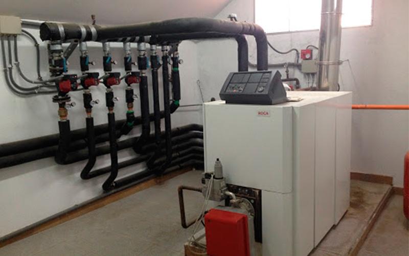 Calefacción central viviendas