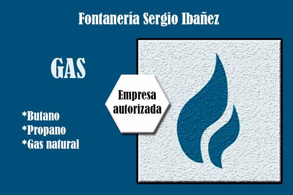 Instalacion de gas en Fontaneria Sergio ibañez de Paterna